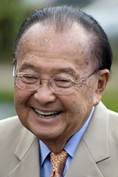 Photo of Sen. Inouye