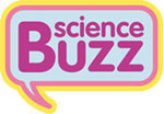 Science Buzz logo graphic.