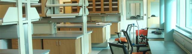 Laboratory interior view